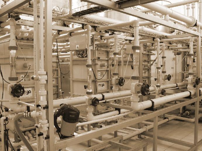 Электродиализная установка для обессоливания пищевых продуктов