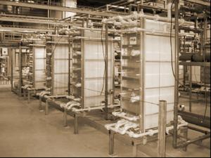 Электродиализная установка для обессоливания сыворотки