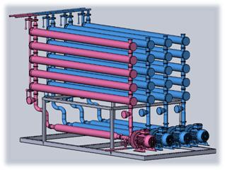 Модульная установка фильтрации напитков