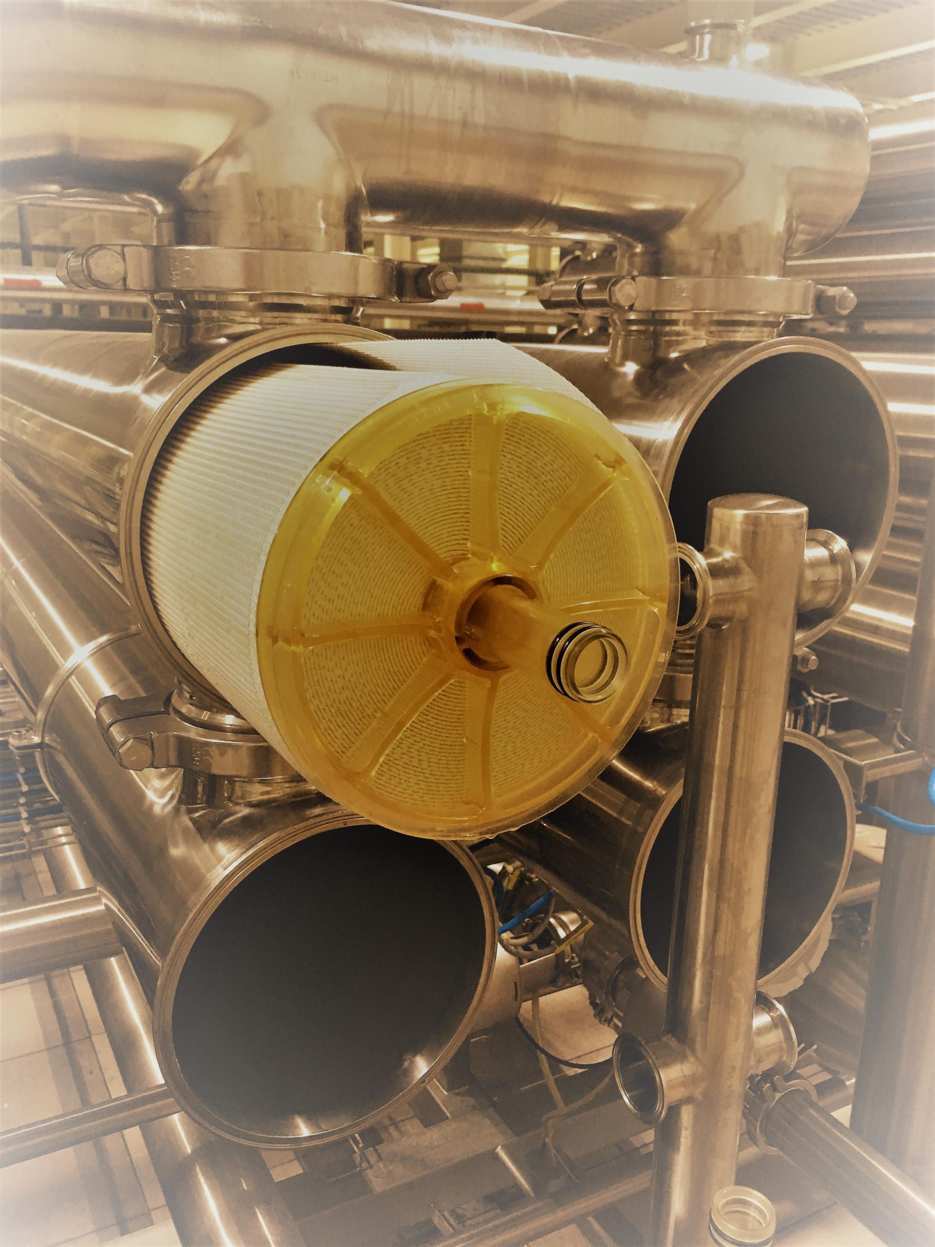 ультрафильтрационная мембрана для пива